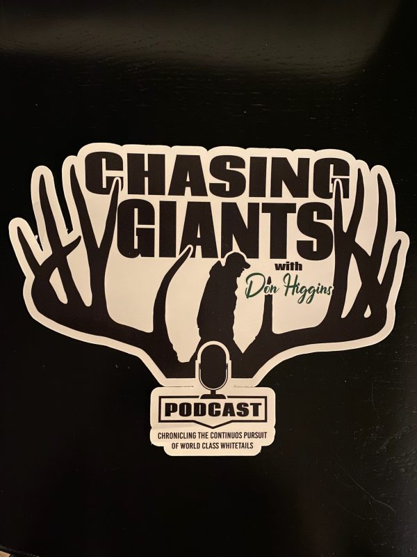 Chasing Giants Truck Decals