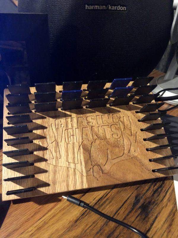 Chasing Giants SD Card Desk Organizer (Order Proceeds to Go Charity)